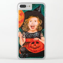 Are you ready for Halloween? Clear iPhone Case