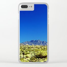 Tonto National Forest Clear iPhone Case