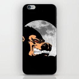 Night Monkey iPhone Skin