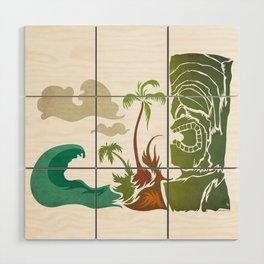 Surf Ku Wood Wall Art