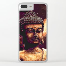 Looking For Buddha 35 Clear iPhone Case
