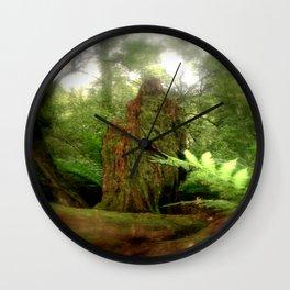 Stumped Wall Clock