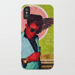 The Piano Has Been Drinking iPhone Case