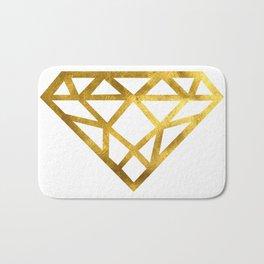 Gold Diamond Bath Mat
