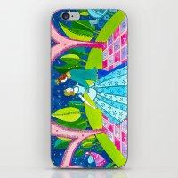 cinderella iPhone & iPod Skins featuring Cinderella by Sandra Nascimento