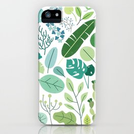 Botanical Chart iPhone Case