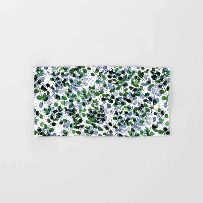 Synergy Blue and Green Hand & Bath Towel