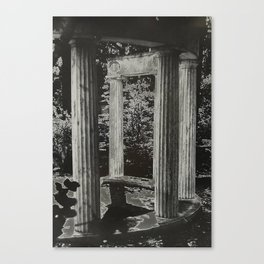 Solar Columns Canvas Print