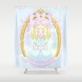 Sweet Candy Girl Shower Curtain