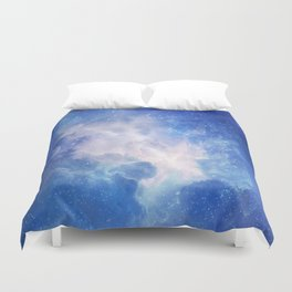 The Universe Calling Duvet Cover
