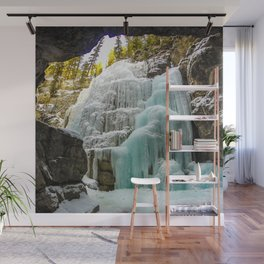 Angel Falls in Maligne Canyon, Canada Wall Mural