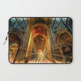 Bath Abbey Sun Rays Art Laptop Sleeve