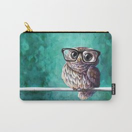 Intellectual Owl Carry-All Pouch