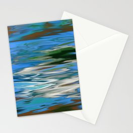 RIVERS AND BAYOUS OF HEMMIGBOUGH OIL PAINTING Stationery Cards