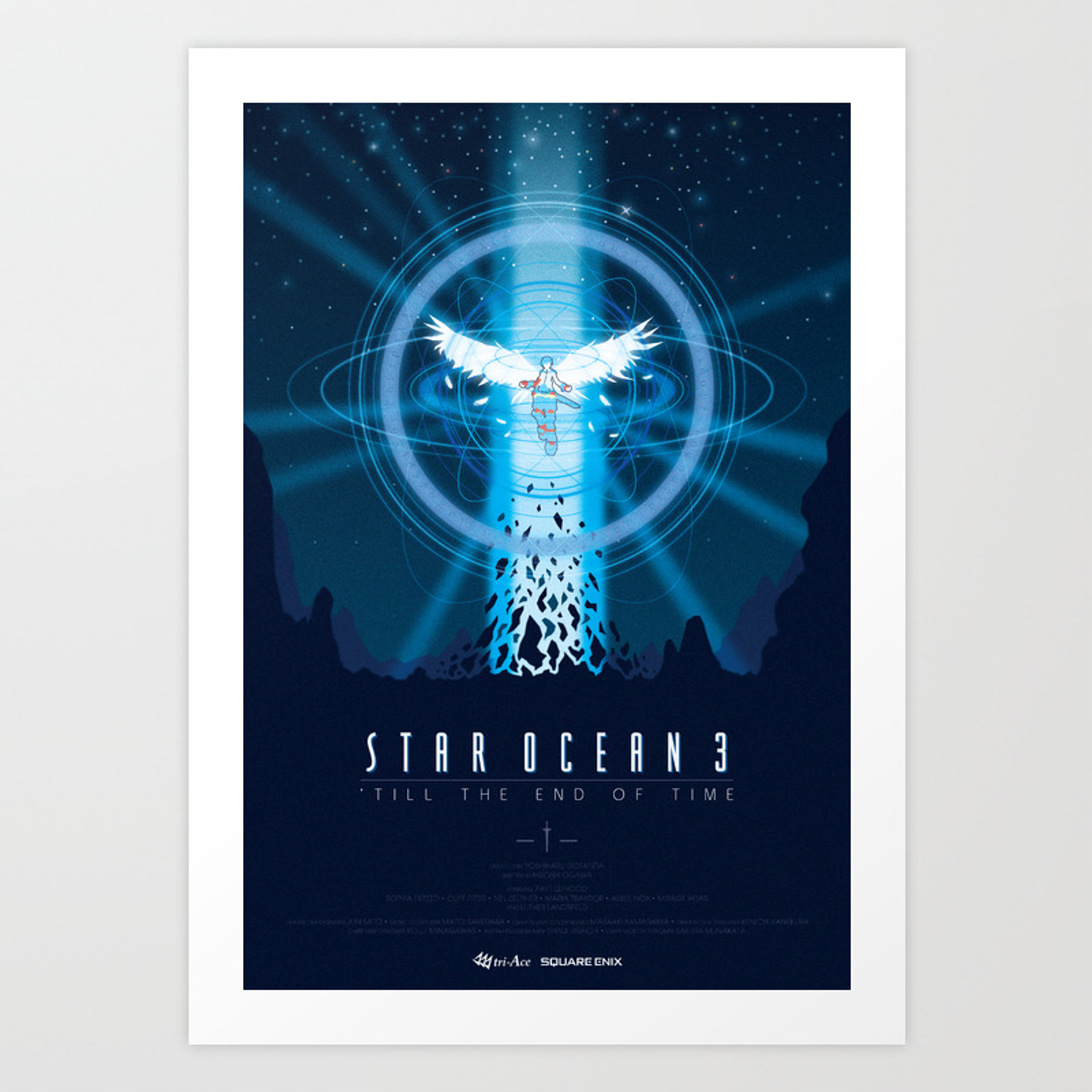 Star Ocean Till The End Of Time Art Print By Pastasoup Society6