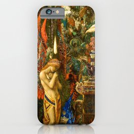 Portrait of the Goddess Saturn by Gustave Moreau iPhone Case
