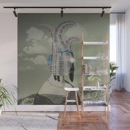 Die Frau und das Haus Wall Mural