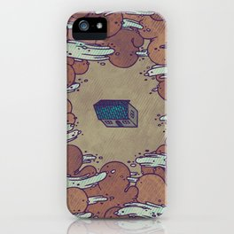 Away From Everyone iPhone Case