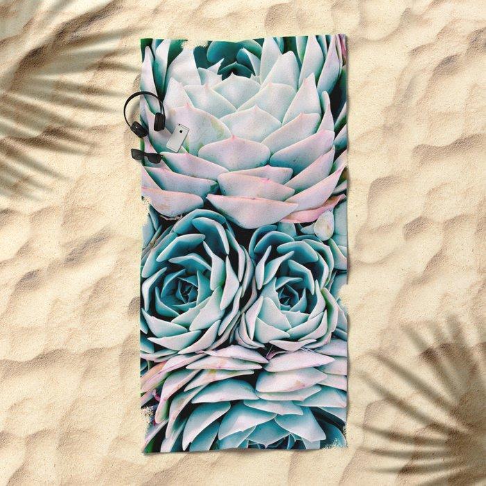 Pastel Paradise Beach Towel