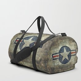 Stylized US Air force Roundel Duffle Bag