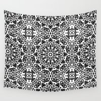 oriental Wall Tapestries featuring Oriental Pattern by LebensARTdesign