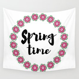 Spring time 2 Wall Tapestry