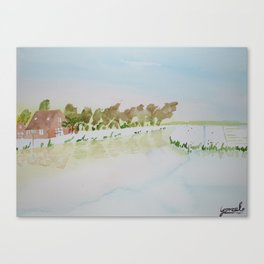 Little house Canvas Print