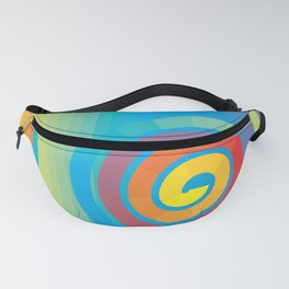 Square Spiral Fanny Pack