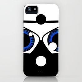 geeky yin yang iPhone Case