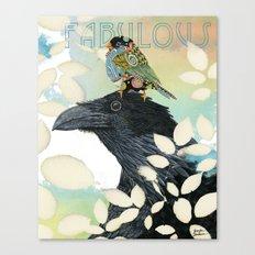 Feeling Fabulous Birds Canvas Print