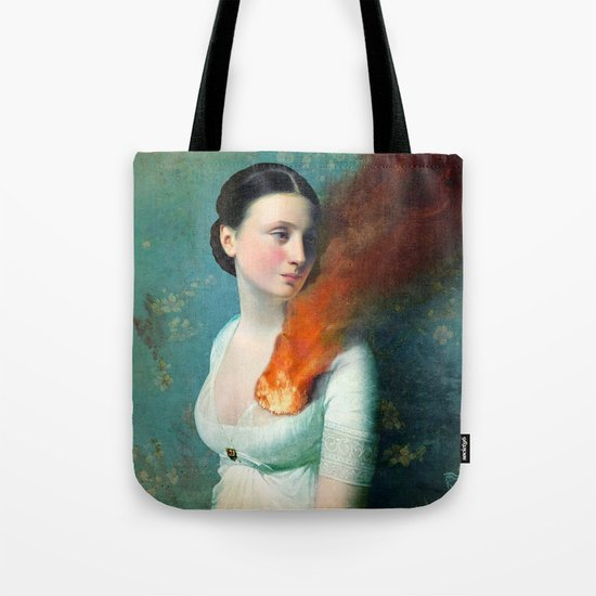 Portrait of a Heart Tote Bag