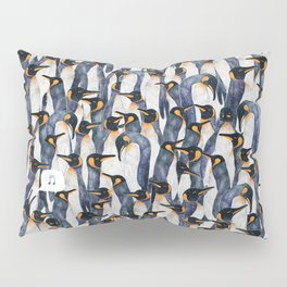 Singing Penguin Pillow Sham