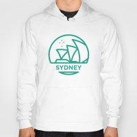 sydney Hoodies featuring Sydney by BMaw