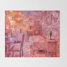 Al Capone's Vibrant Acrylic Cell Throw Blanket