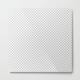 Transparency Pattern Metal Print