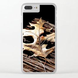 Burnished Gold in Winter Clear iPhone Case