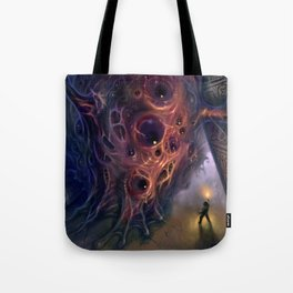 The Mountains of Madness Tote Bag