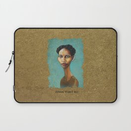 Portrait of Ayaan Hirsi Ali Laptop Sleeve