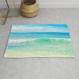 Ocean Blue Beach Dreams Rug