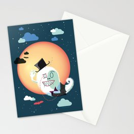 Monsieur Salut Stationery Cards