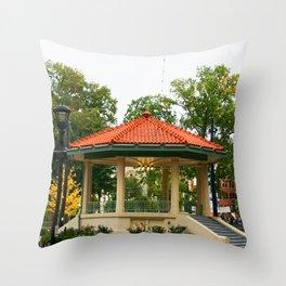 Washington Park Bandstand   Cincinnati, OH   Urban Park Throw Pillow