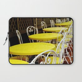 Outdoor Cafe Laptop Sleeve