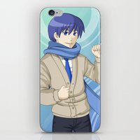 vocaloid iPhone & iPod Skins featuring Kaito - VOCALOID Gakuen by Tenki Incorporated