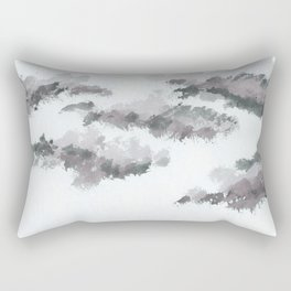 clouds_january Rectangular Pillow