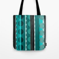 road Tote Bags featuring Road by JuniqueStudio