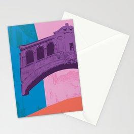 Oxford University : Bridge of sighs Pop colour Stationery Cards