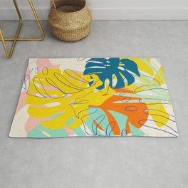Vibrant Monstera for Matisse Rug