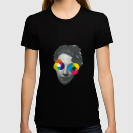 Psychedelic glasses T-shirt