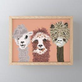 No Prob-Llama Framed Mini Art Print
