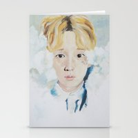 key Stationery Cards featuring Key  by Mika Codner